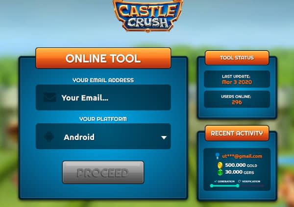 Castle-Crush-Hack