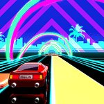 Retro Drive: a new neon racer with the best 80s music